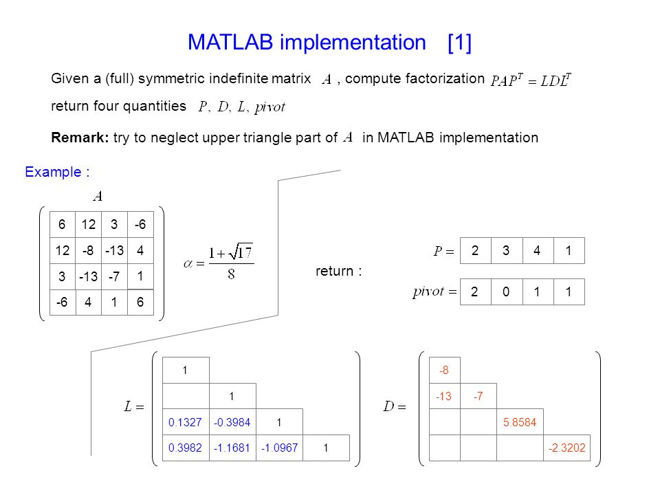 MATLAB implementation [1]
